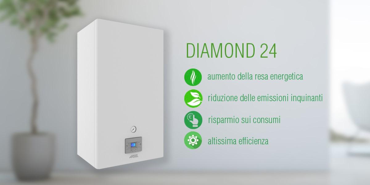 Caldaia a condensazione 24kW Diamond Artel