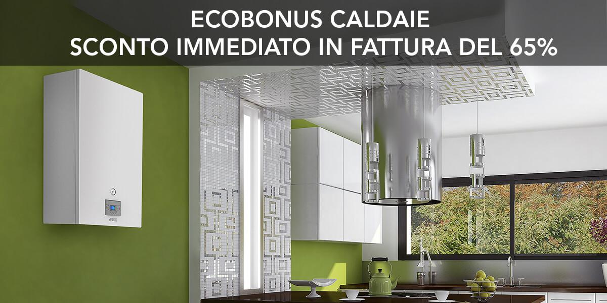 Sconto Ecobonus 65% caldaie a condensazione a gas Artel